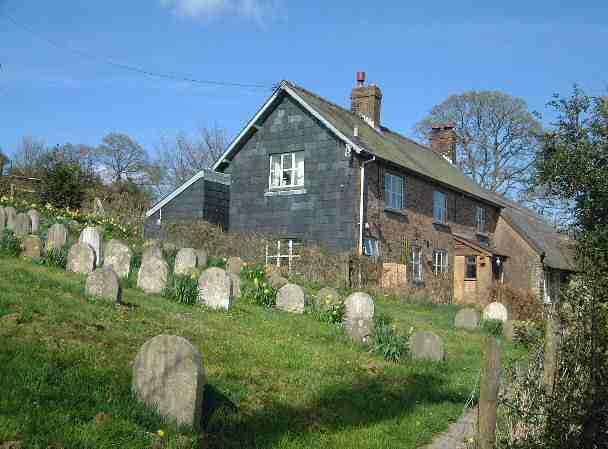 Graveyard in Pales